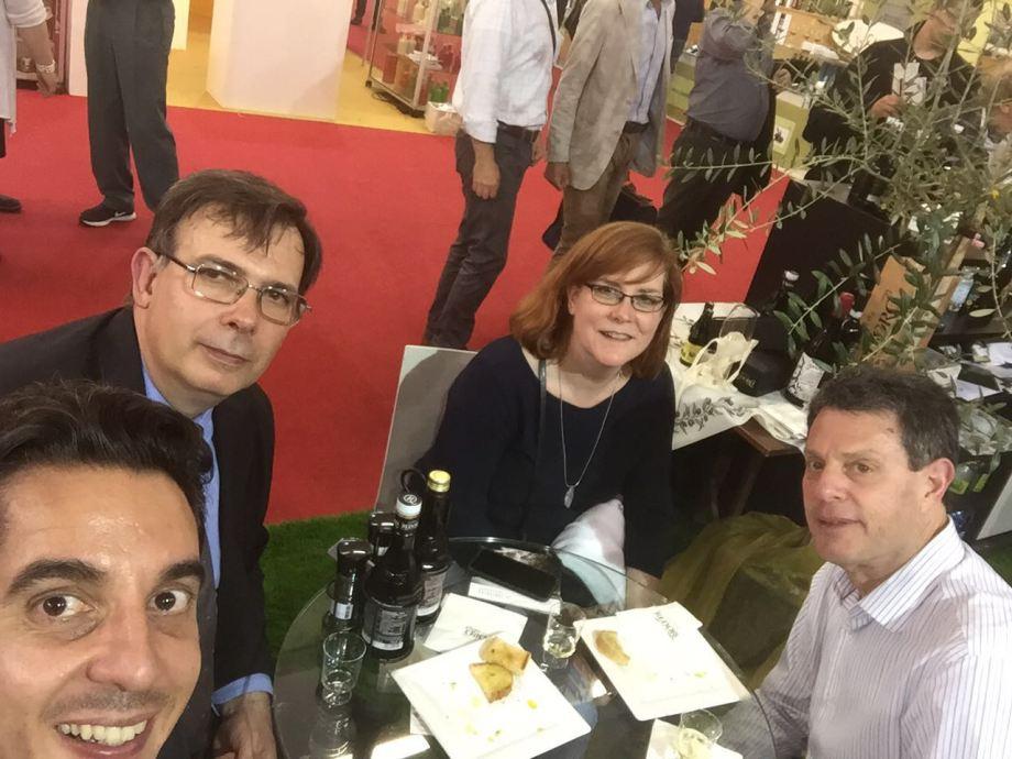 Vivienne, Robb, Ivan Russo and Diego Begalli